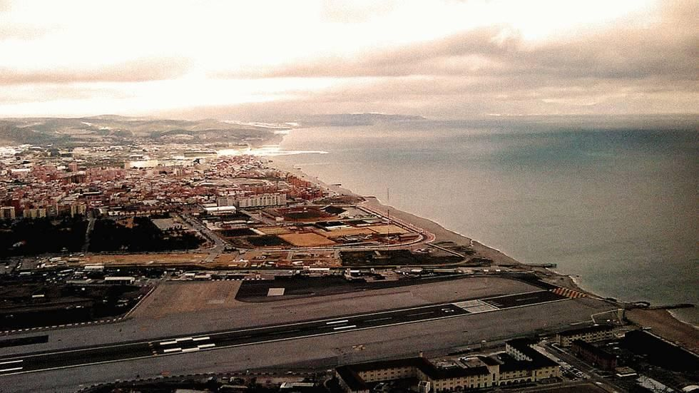 And when you thought water is the only thing you are not scared of, here is the real picture. The runway which is only 6,000 feet long, also houses the busiest road of the peninsula. That is the reason why only 3 flights fly in and out of Gibraltar. Oh! This is pleasurably chilling!