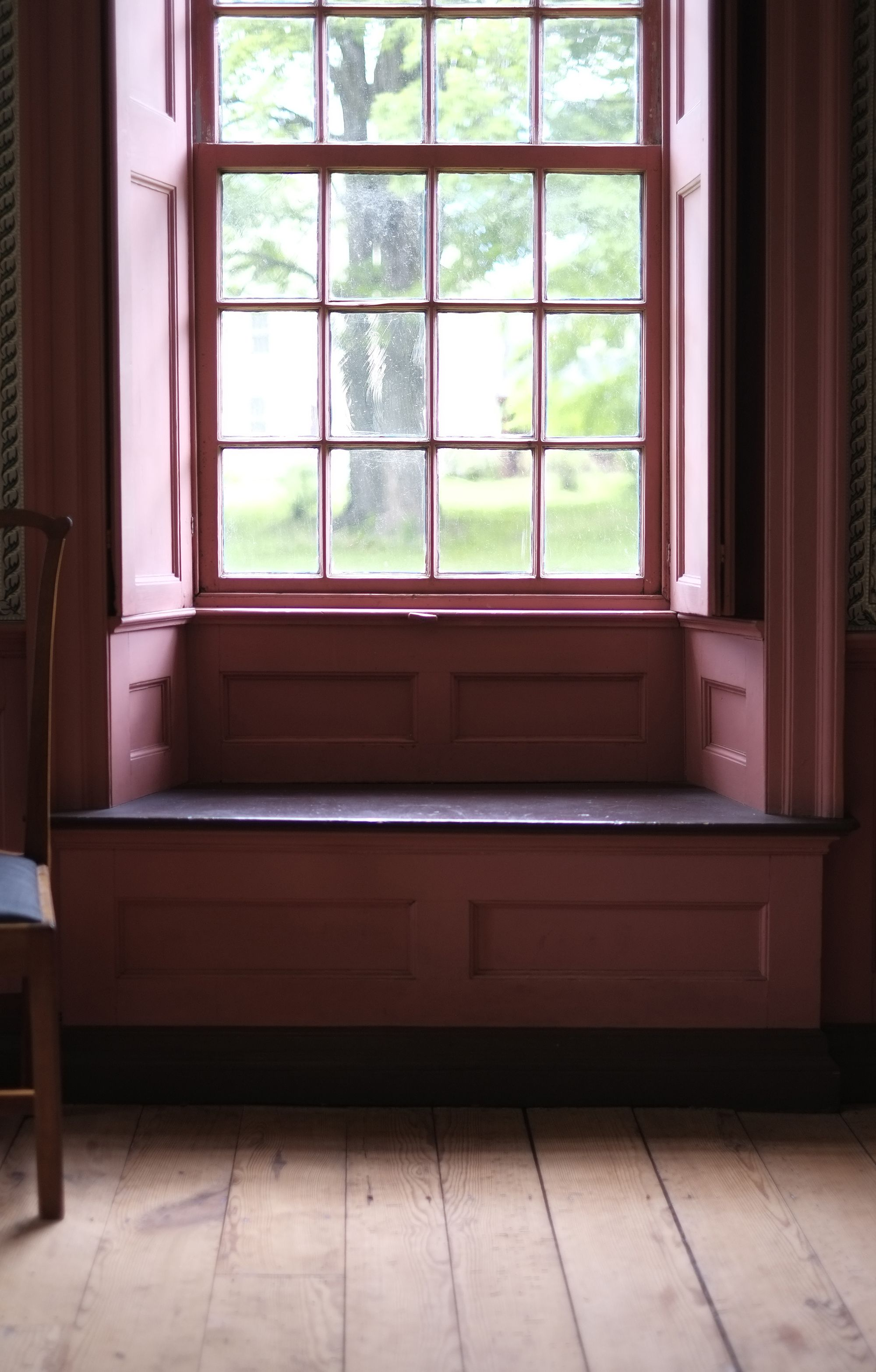 Window Seat Library: Scenes From Historic Deerfield In Deerfield, MA