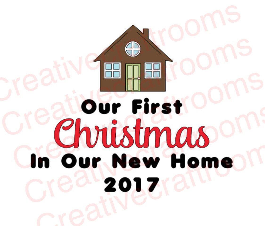 First Christmas In Our New Home Svg.Pin By Catina Hayman On Stencils Cricut Print Cut 1st