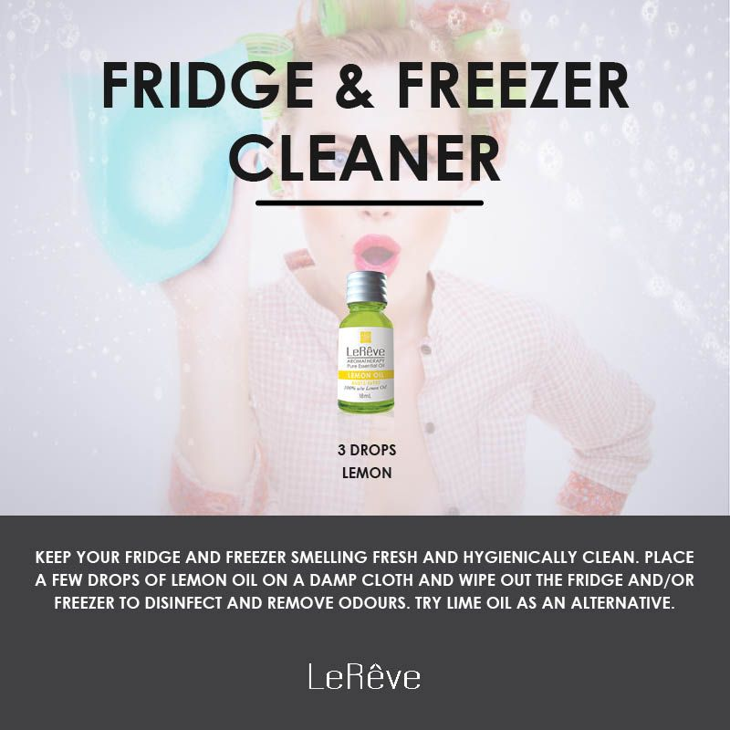 Fridge And Freezer Cleaner Aromatherapy Recipe Keep Your