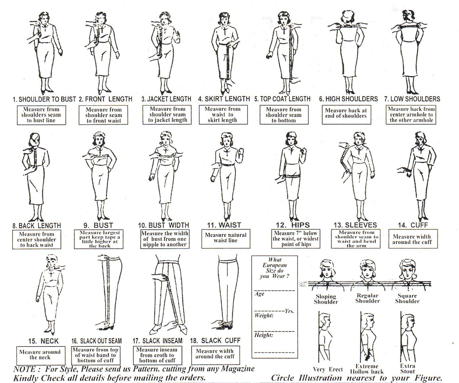 tailored suit measurements 1930s measurement form for men measurement form for women
