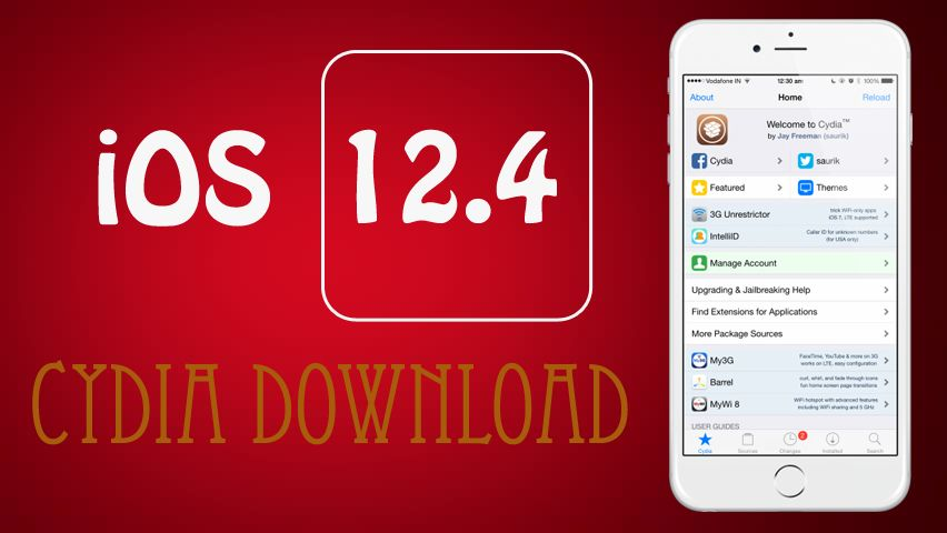 Cydia download ios 124 is an application store that has