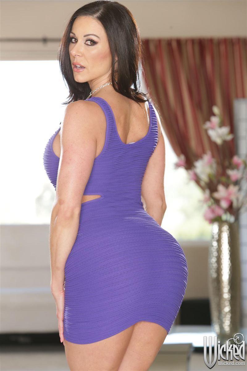 Kendra Lust Tight Dress