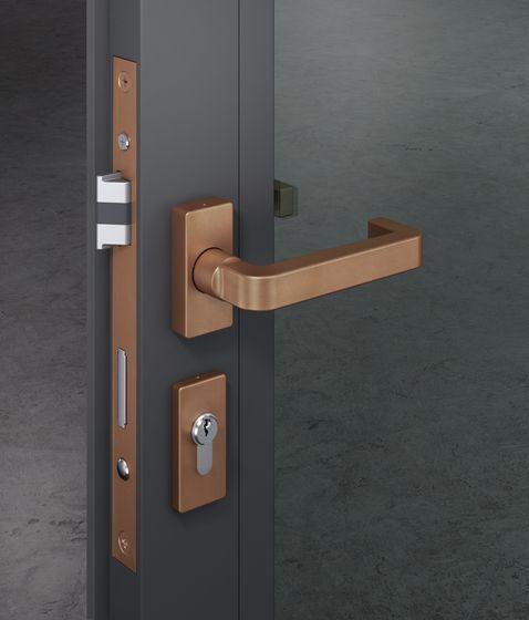Chipperfield By Fsb Lever Door Handles Door Handles Aluminium