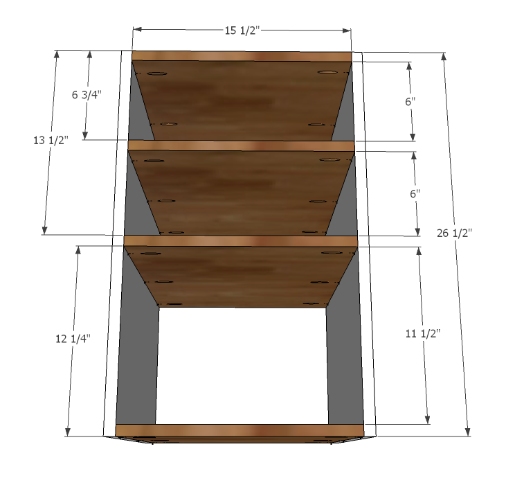 Free Base Cabinet Plans: Eco Office Open Shelf Base Made With PureBond Formaldehyde