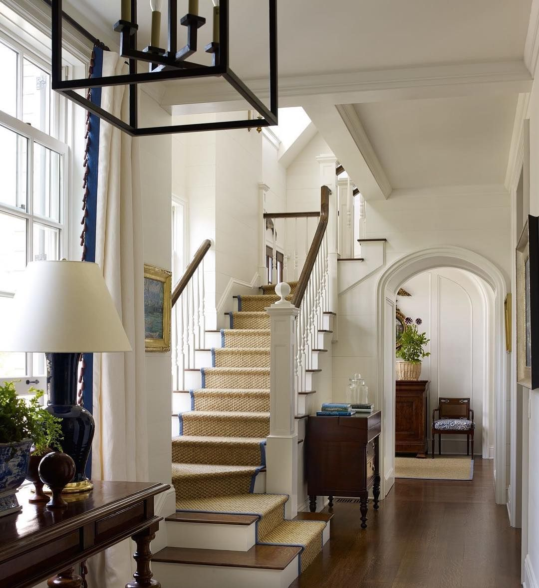I Love How This Stairway, Located In A House In Maine, Is