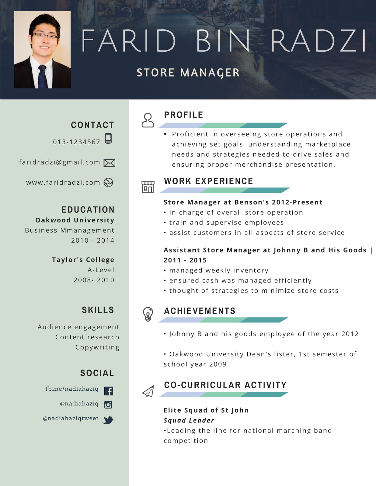Resume Koleksi Contoh Resume Lengkap Terbaik Dan Terkini