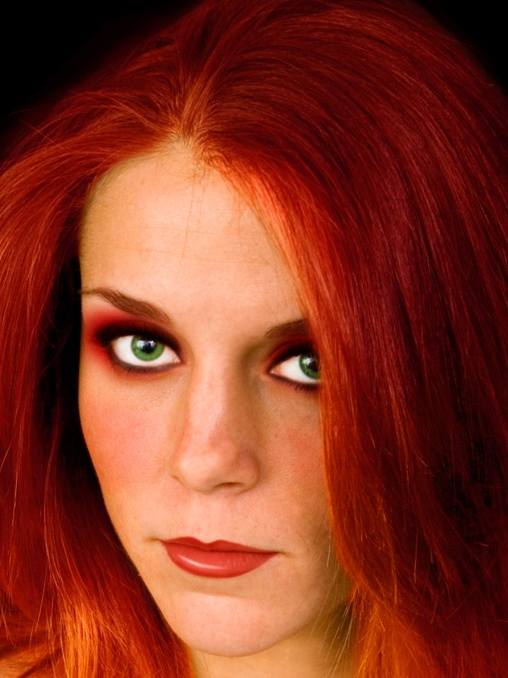 Green Eyes Red Hair Best Eye Shadow Colors Hair Colour For Green