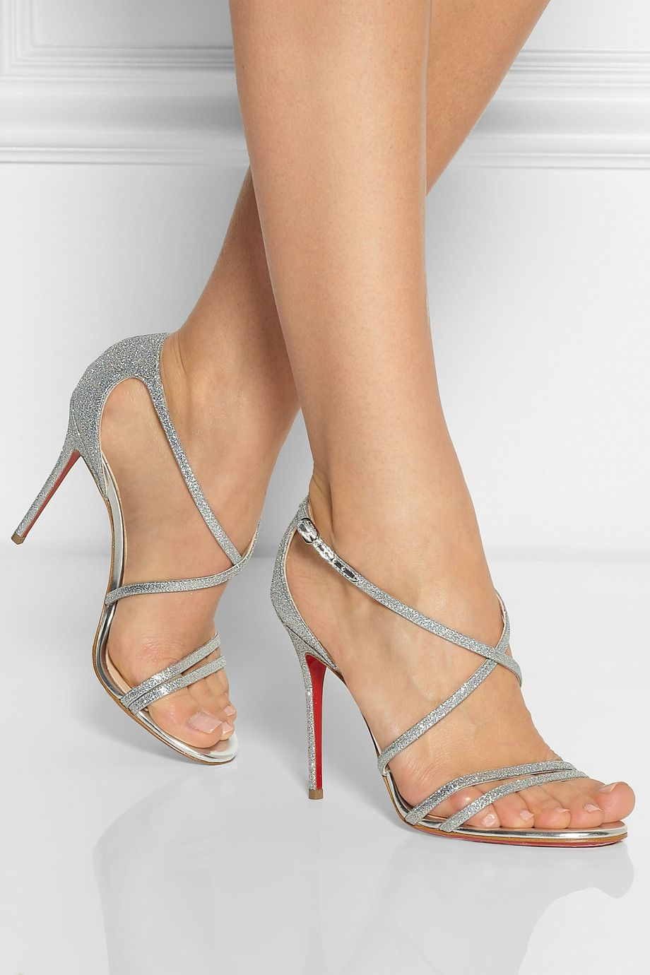 louboutin high heels sandals