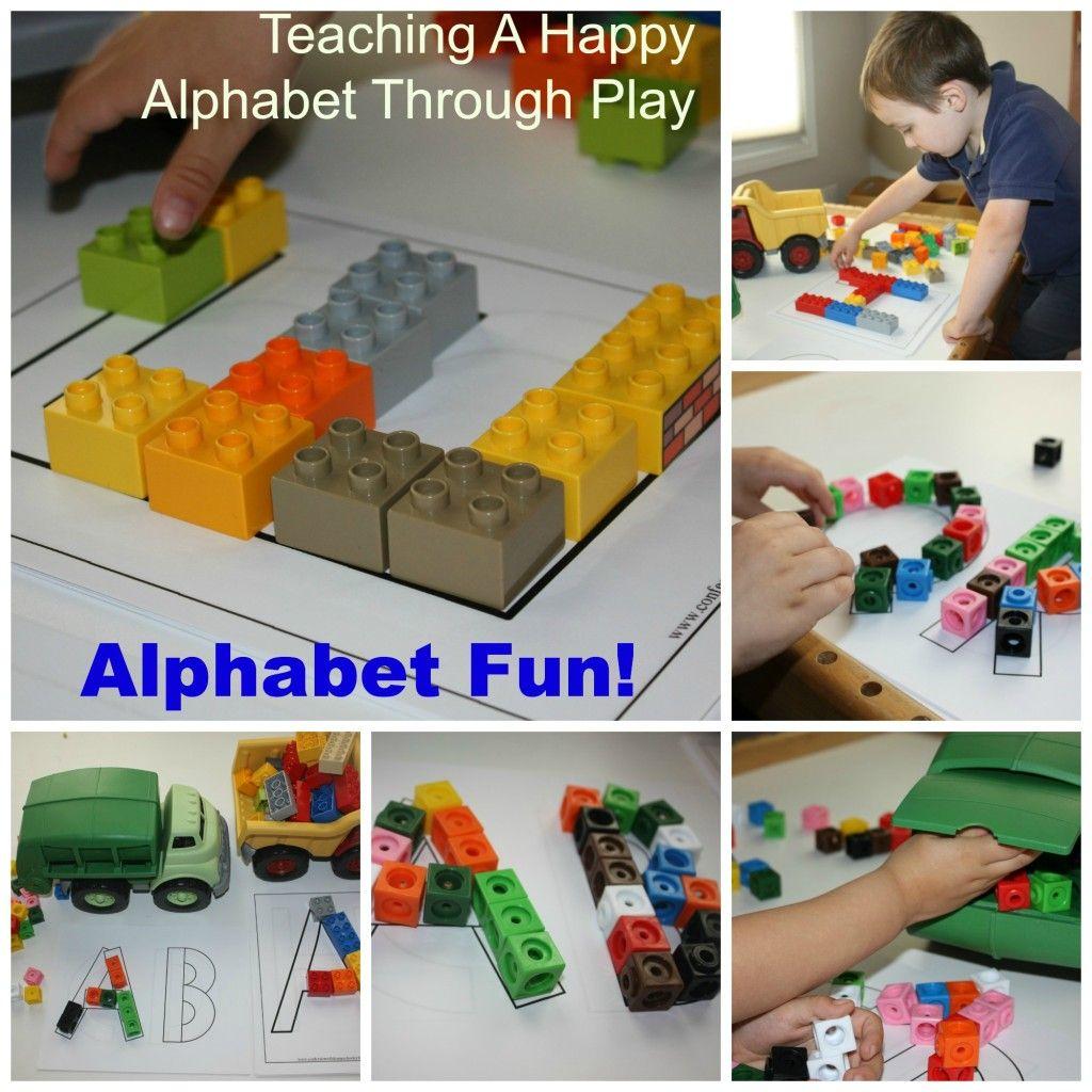 Lego And Unifix Alphabet Building Activity For Kids