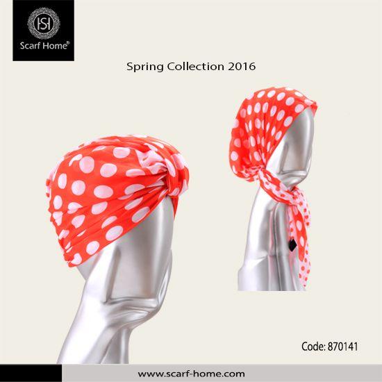لأنك جميلة من مجموعة سكارف هوم ربيع 2016 تربونة قطن متوفرة في 8 ألوان الاحمر التركواز الازرق الجينز الروز ال Spring Collection Spring 2016 Spring