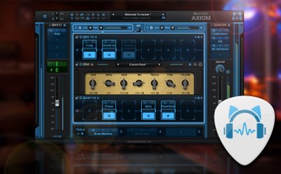 Blue Cat's Axiom Guitar & Bass Amp Simulation With