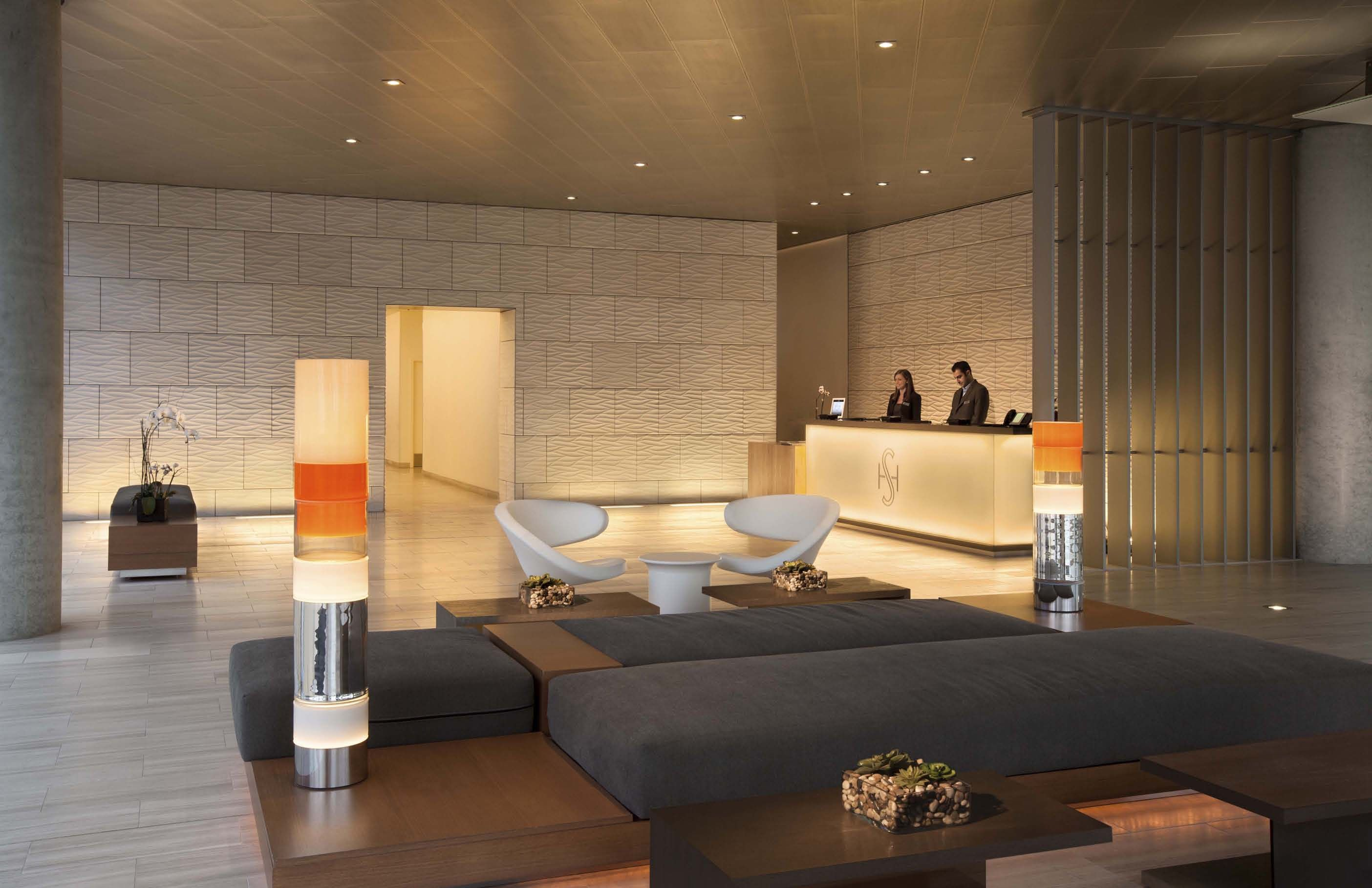 Shore hotel santa monica usa la hotels hotel lobby for 8 design hotel