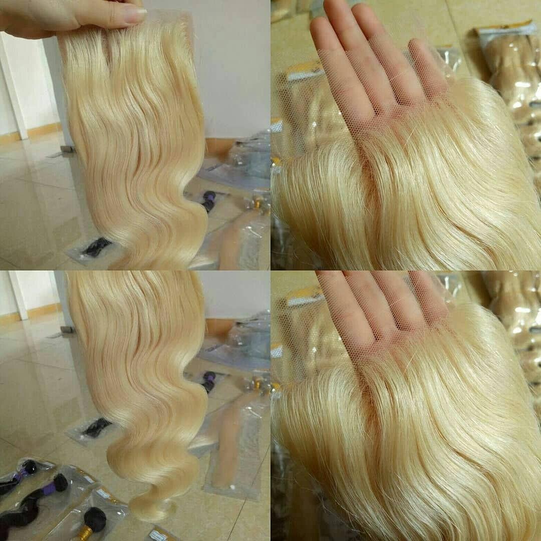 613 Blonde Closure Whatsapp 8619927476778 Web Www Bellahaircn Com Hair Hairstyle Haircolor Hairextensions Haircolorist Hairbrained Hairbundle Sac Sekilleri
