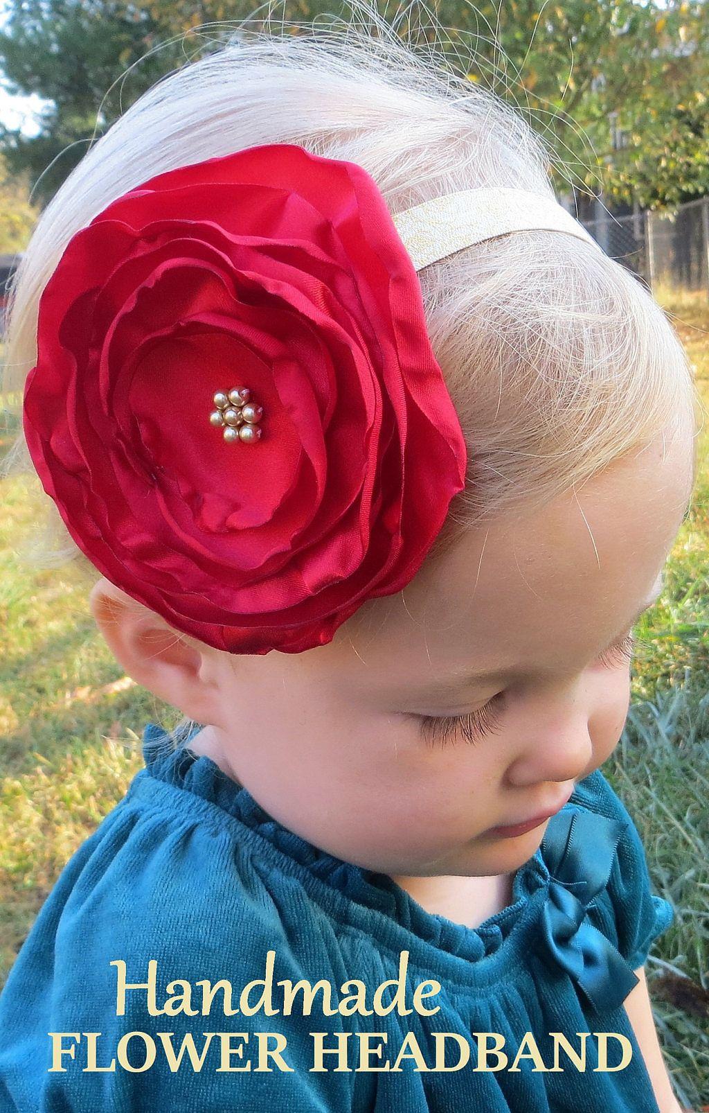Jute Headband Band Headband Handmade Photo Props Baby Kids