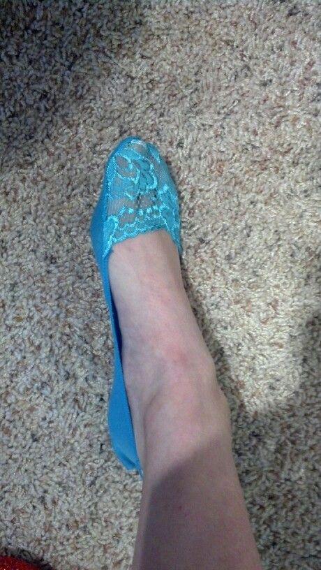 Something blue...socks!