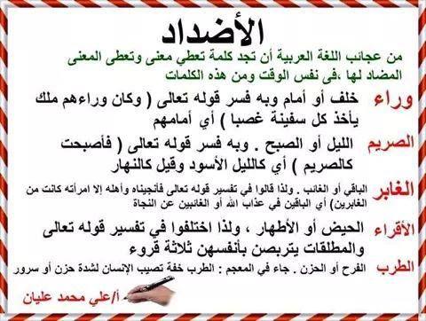 Pin by منى كريم on اللغة الام | Arabic quotes, Arabic