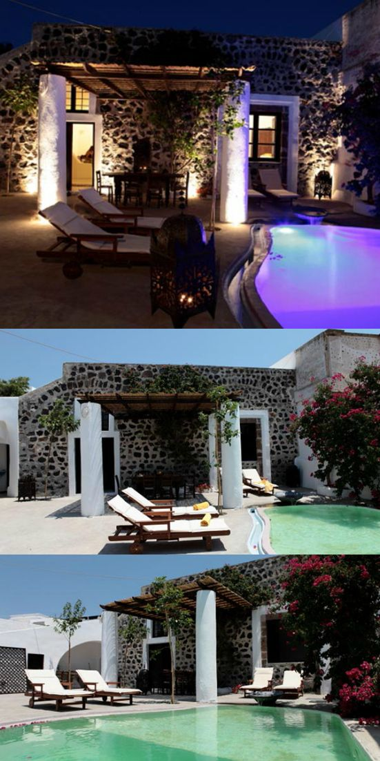 Santorini Greece Villa VMS KIA aka Mansion Kiara. #Greece #Europe #Vacation #travel