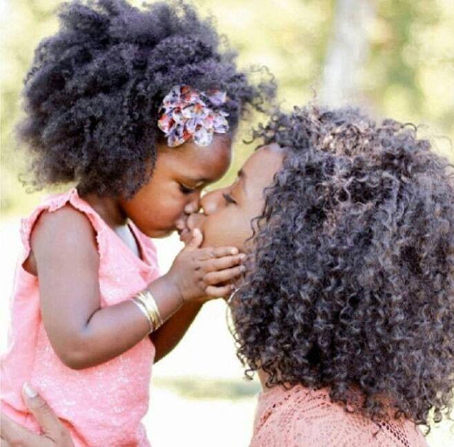 De beaux cheveux de mère en fille ♡ L♡VE Coiffure