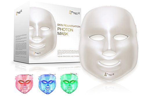 Led Photon Therapy Red Blue Green Light Treatment Facial Https Www Amazon Com Dp B01820ymje Ref C Light Therapy Mask Led Light Therapy Blue Light Therapy