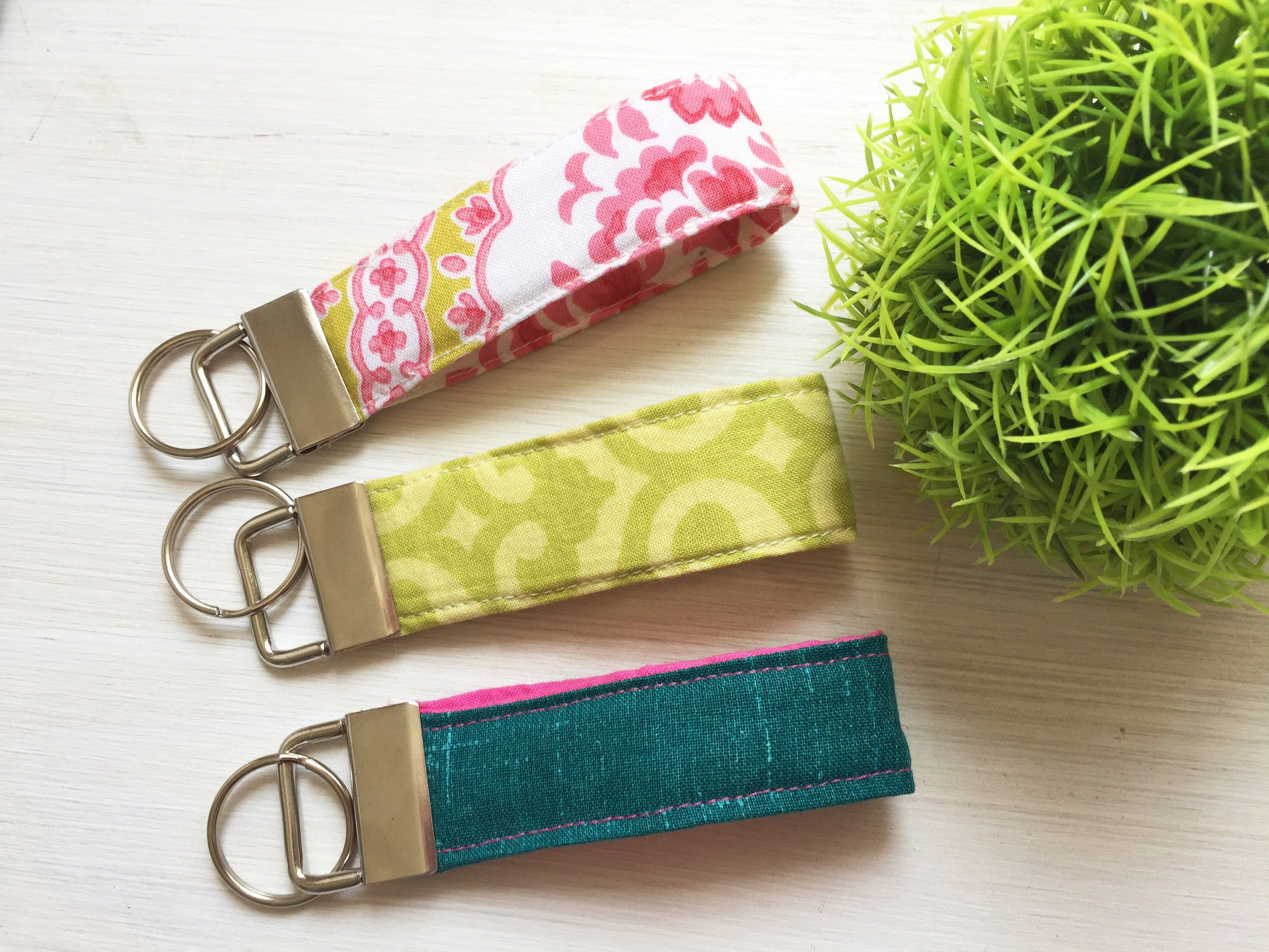 Fabric mini key chains accessories ready to ship