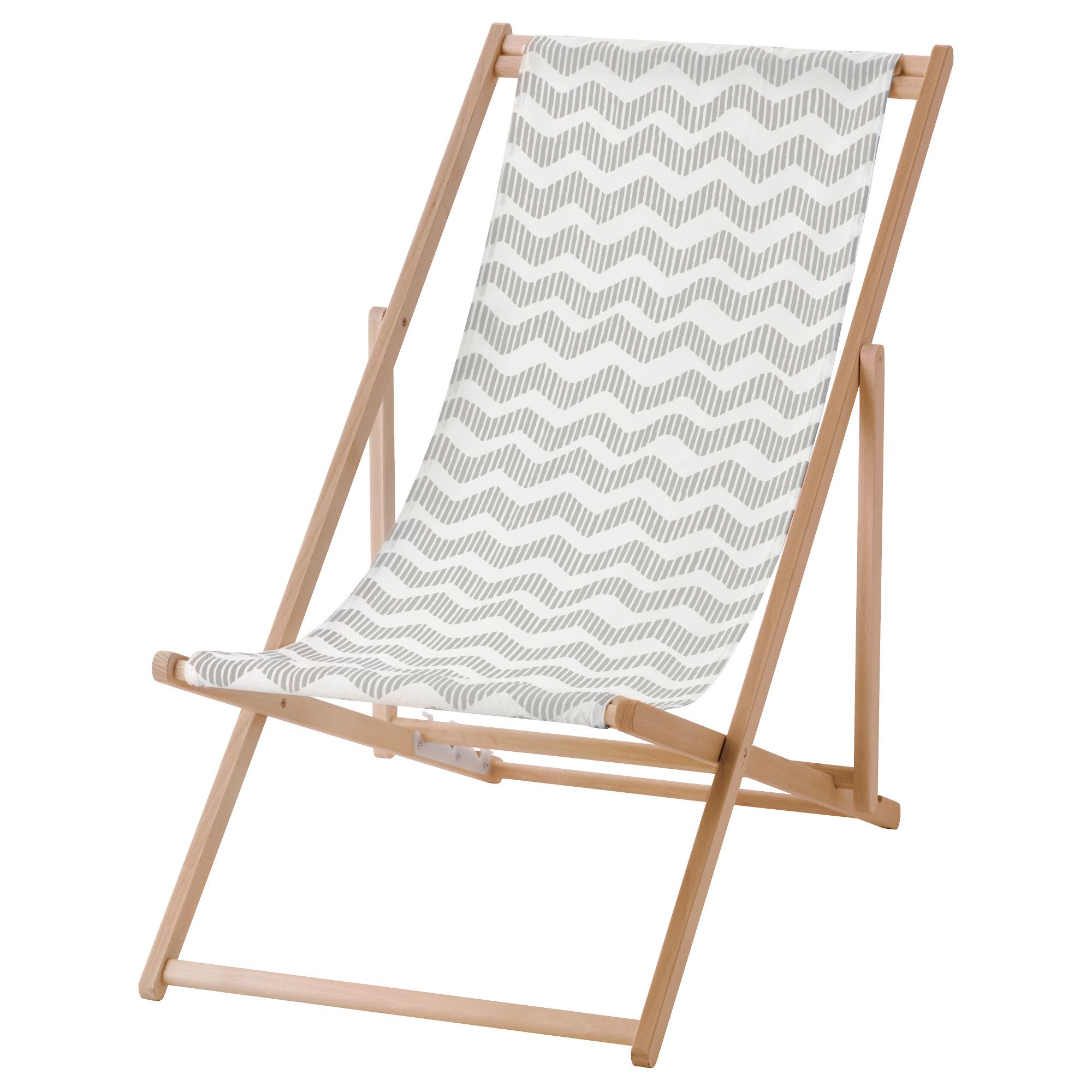 IKEA MYSINGS– Beach chair foldable gray
