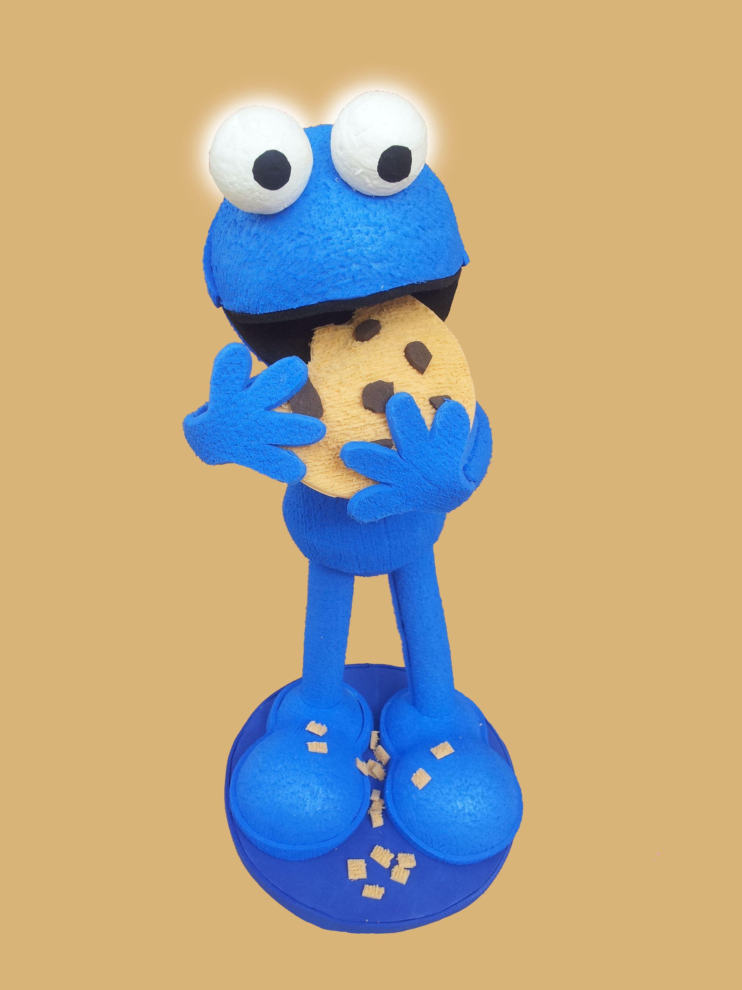 Triki, el monstruo de las galletas | goma eva | Pinterest | Los ...