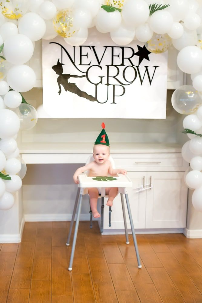 Never Grow Up 1st Birthday Party: A Peter Pan Birthday