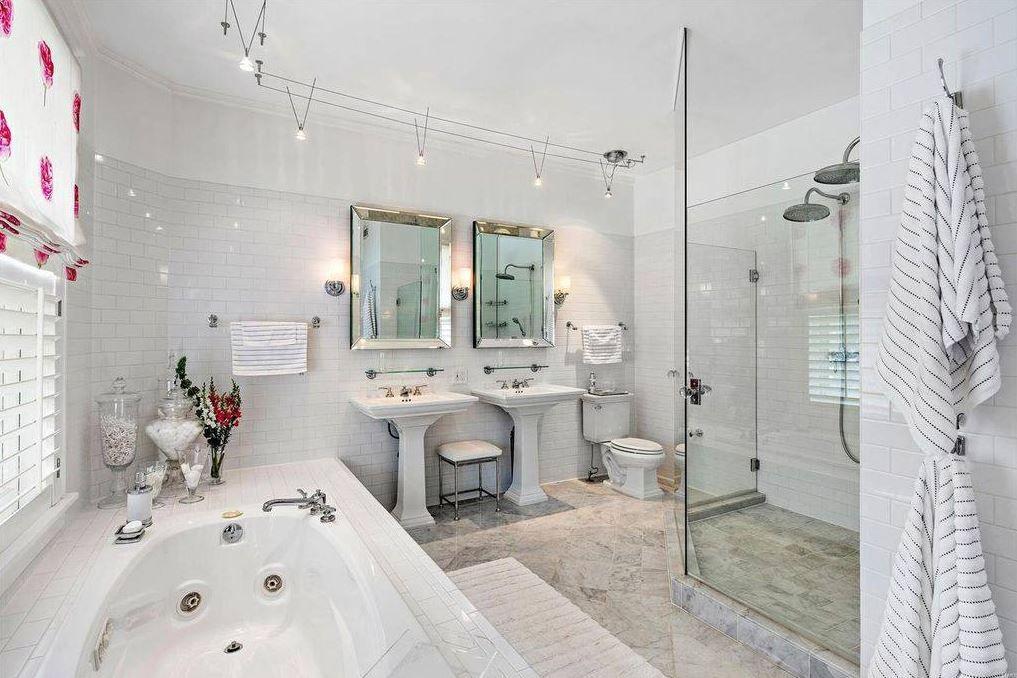 Light Bright Master Bath Add A Bathroom Bathroom Home