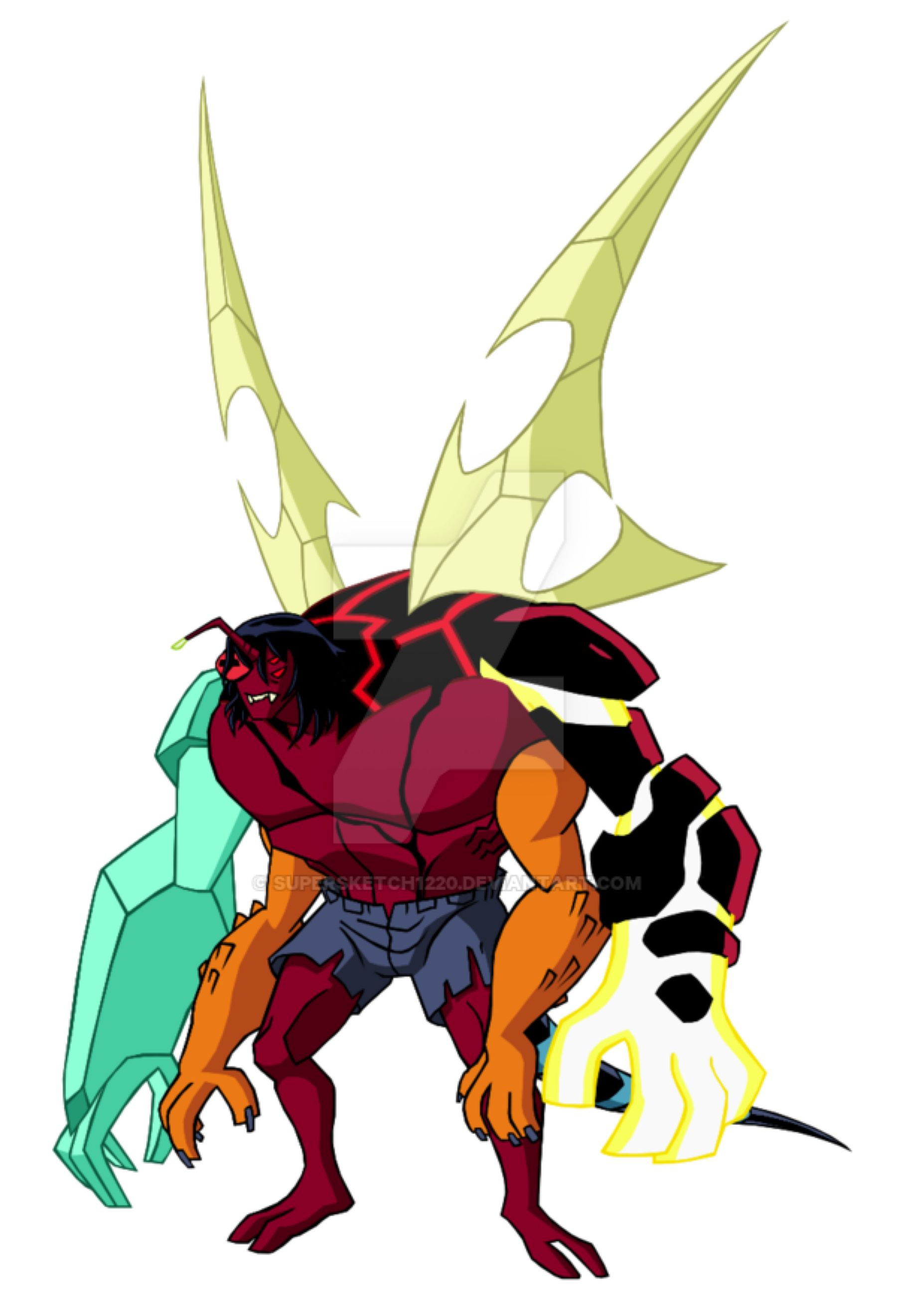Kevin S Original Mutation Omniverse Style By Supersketch1220 On