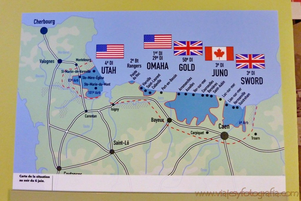 Como Visitar Los Escenarios Del Desembarco De Normandia 1 Parte