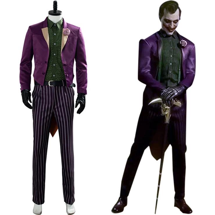 Mortal Kombat 11 The Joker Cosplay Costume Joker Cosplay Costume Mortal Kombat Halloween Costume Cosplay Costumes