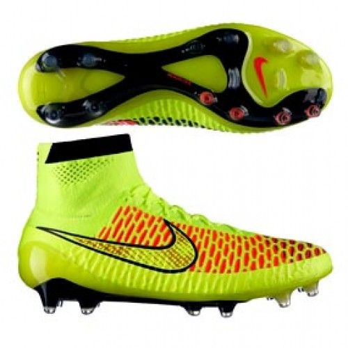 newest collection 5b890 a9544  NIKE MAGISTA OBRA FG VOLT -- Magista Obra FG in volt metallic gold coin- black and hyper punch colors firm ground shoes... Shop online!!