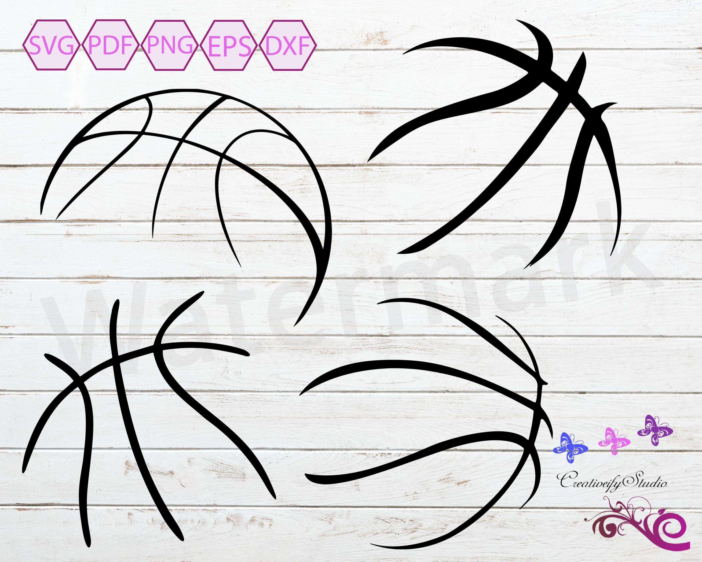 Basketball Stitches SVG, Basketball Laces, Basketball