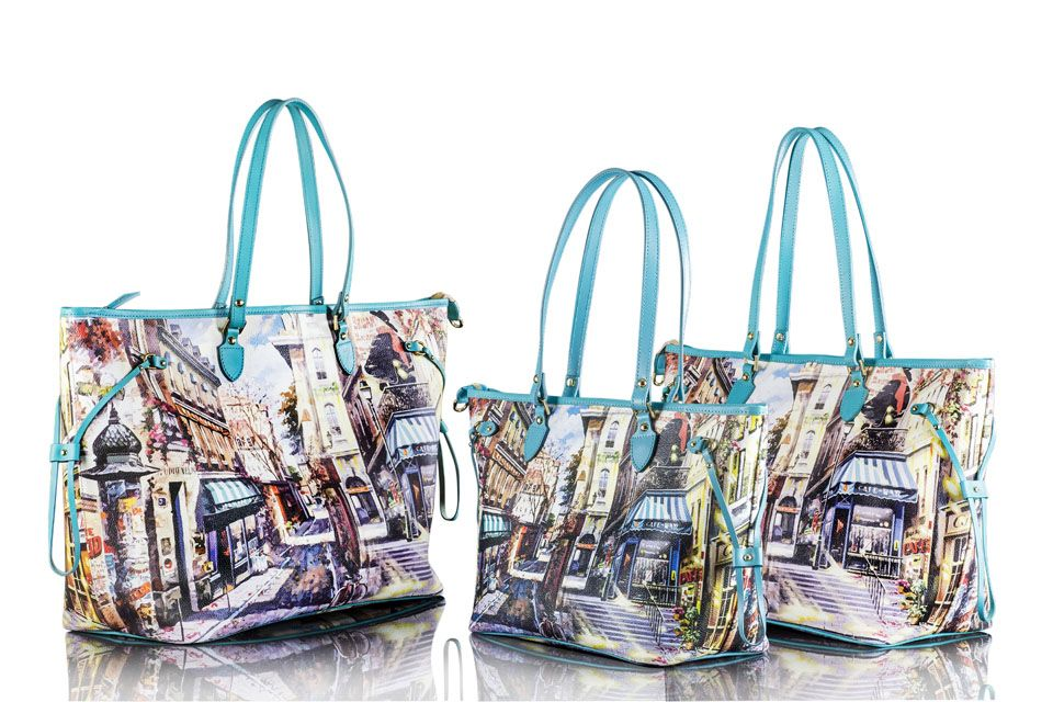 Bagghy moulin rouge 02 Tote Bag , Bagghy Handbags Purses Accessories ~ Made  in Italy