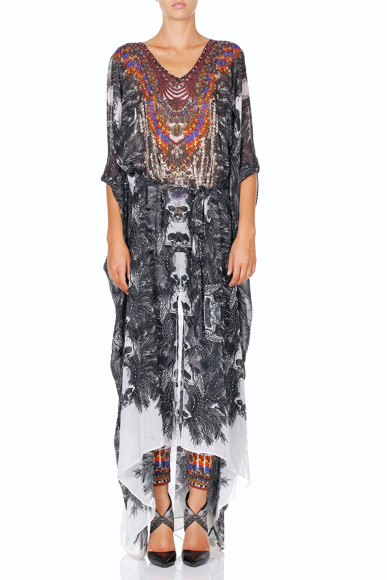 677fda1134027 INNER ANARCHIST BELTED KAFTAN WITH ARM DETAIL | My Camilla Kaftans ...