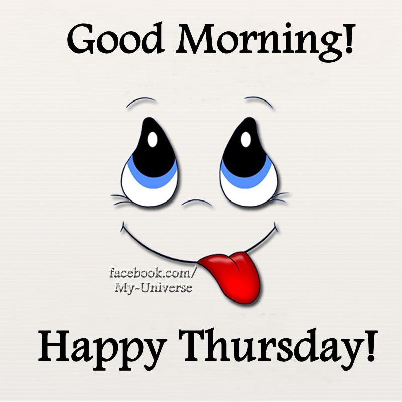 Smiley Good Morning Happy Thursday