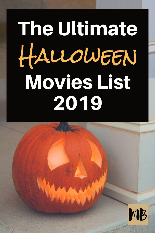 Halloween Movies List (Streaming on Netflix, Hulu & Amazon