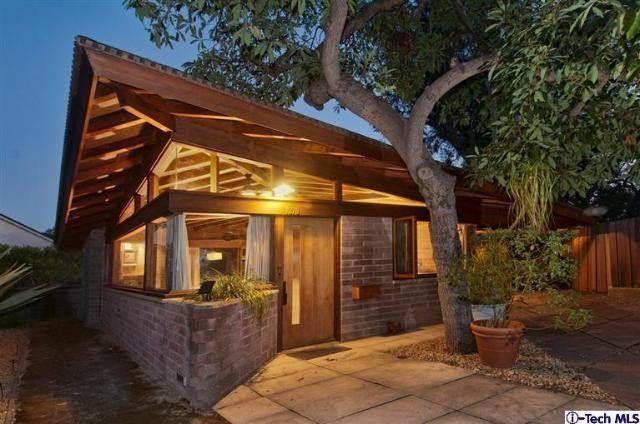Lloyd Wright's Dorland House in Altadena Hits the Market