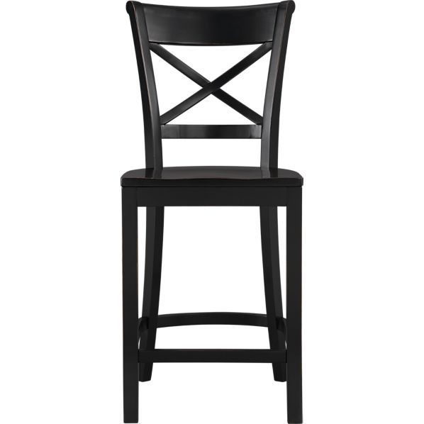 Vintner 24 Black Bar Stool Black Bar Stools Black Counter