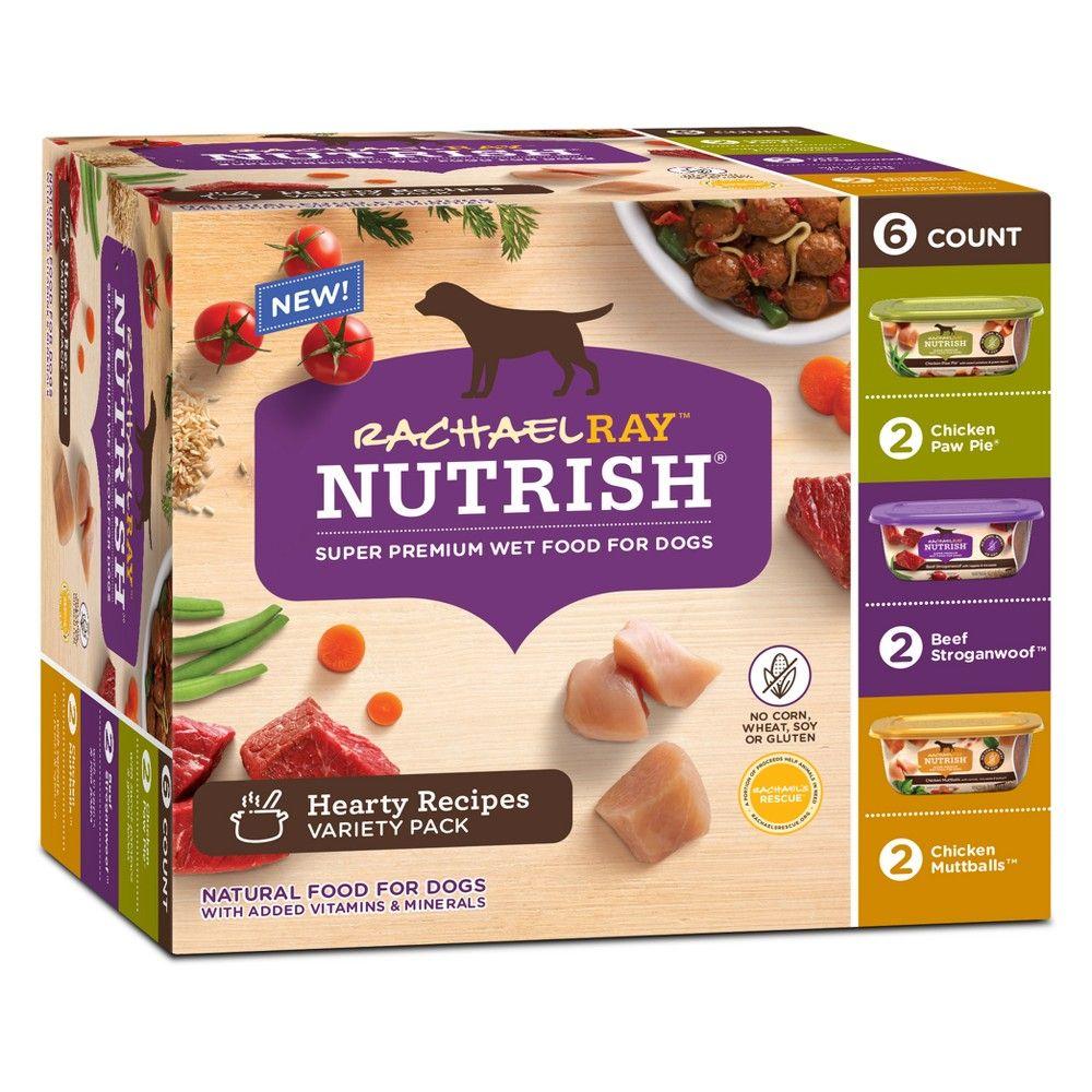 Rachael Ray Nutrish Natural Wet Dog Food Hearty Recipes Variety