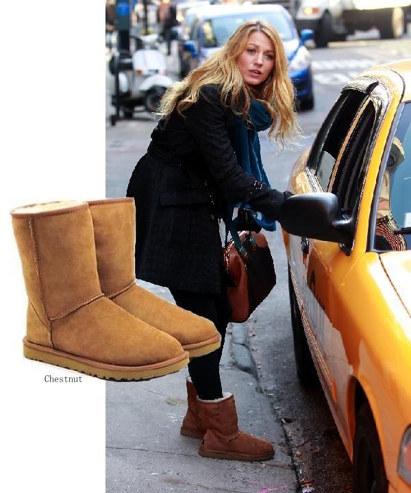 3c9ab5f4e0e UGG Australia Women's Classic Short Sheepskin Boot   Things to wear ...