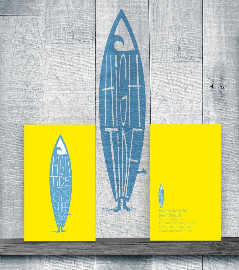 5ee3258f54 High Tide Kids Surf School Visual Identity Logo | Design - Logo ...