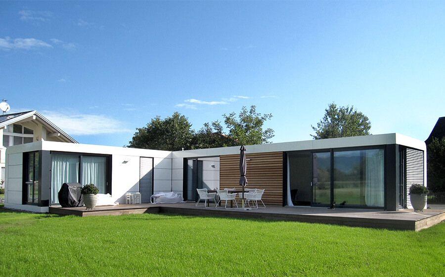Container Fertighaus cubig designhaus fertighaus haus prefab house and