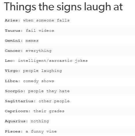 I Love When People Laugh Zodiac Signs Leo Zodiac Signs Horoscope Zodiac Star Signs