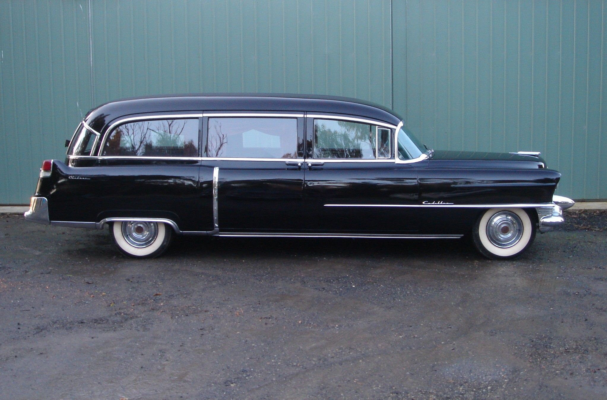 1955 cadillac meteor hearse for sale