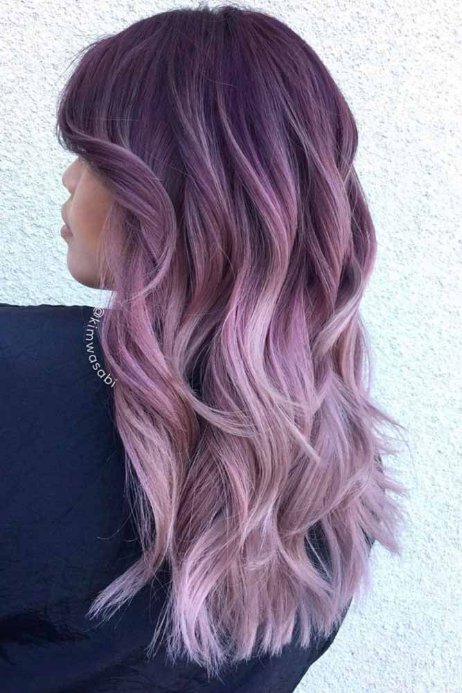 68 Tempting And Attractive Purple Hair Looks Lovehairstyles Com Hair Color Purple Lilac Hair Hair Styles