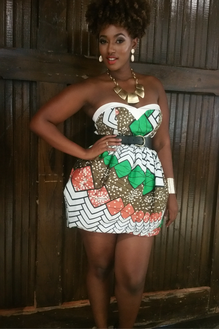 Ankara short dresses style african fashion pinterest african
