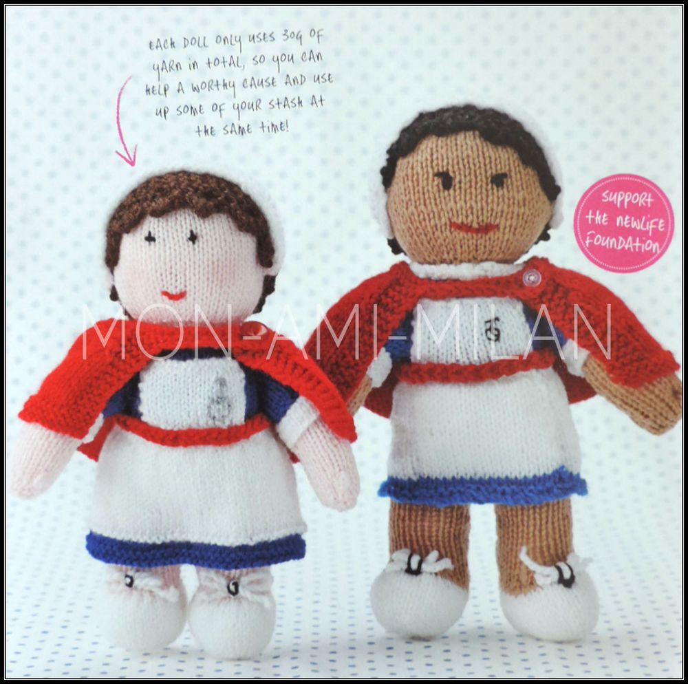 Knitting Pattern • Nurse Dolls in Nursing Uniforms • Dolly • Soft ...
