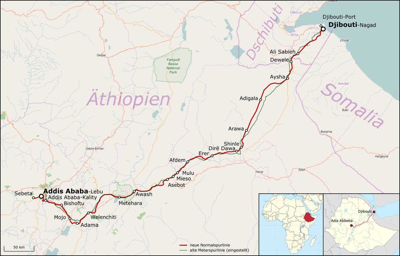From Wikiwand Bahnstrecke Addis Abeba Dschibuti Dschibuti Athiopien Offentliche Verkehrsmittel